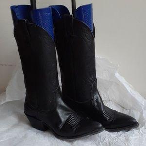 Nocona Black Western/Cowboy Boots 6